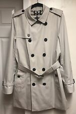 Burberry Kensington Double Breasted Trench Coat Size 50 $1,795.00