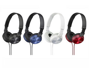 Casque-Sony-MDR-ZX310-Ecouteur-Audio-Stereo-Pliable-Supra-Aural