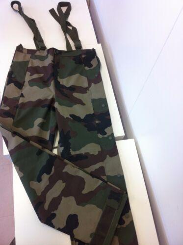 Taille 96L Sur-pantalon Gore-tex Camouflage OTAN CE Armée Française 100/% neufs