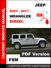 jeep wrangler jk 2007 2008 2009 2010 service repair manual workshop rh ebay com jeep wrangler jk crd service manual pdf 1997 Jeep Wrangler TJ