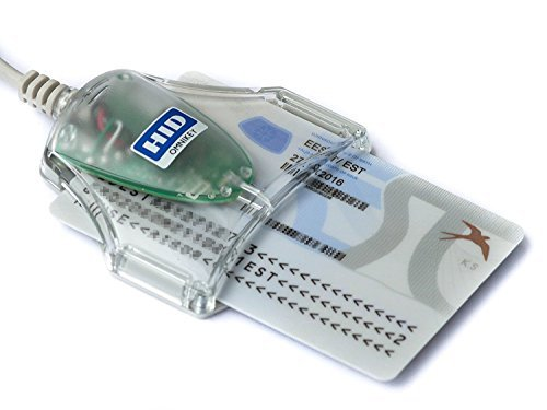 hid omnikey cardman usb contact chip smart card reader