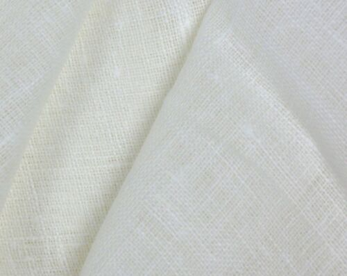 100/% linen fabric white pure linen fabric by meter or yard