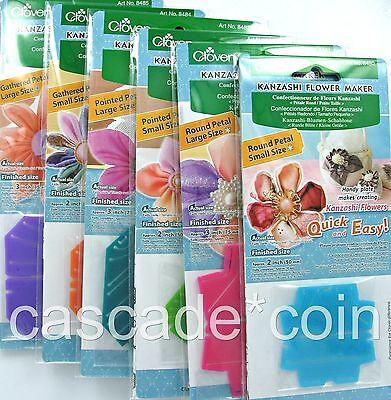 Clover® Traditional Japanese Kanzashi Flower Makers Complete SET NINE Different