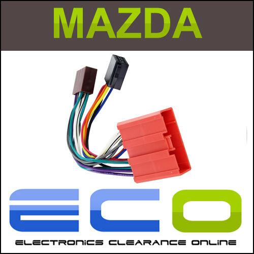 Connects2 ct20mz02 Mazda 3 2004 en adelante Auto Stereo Iso arnés adaptador Plomo