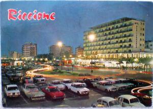 1970-RICCIONE-Piazzale-Roma-notturno