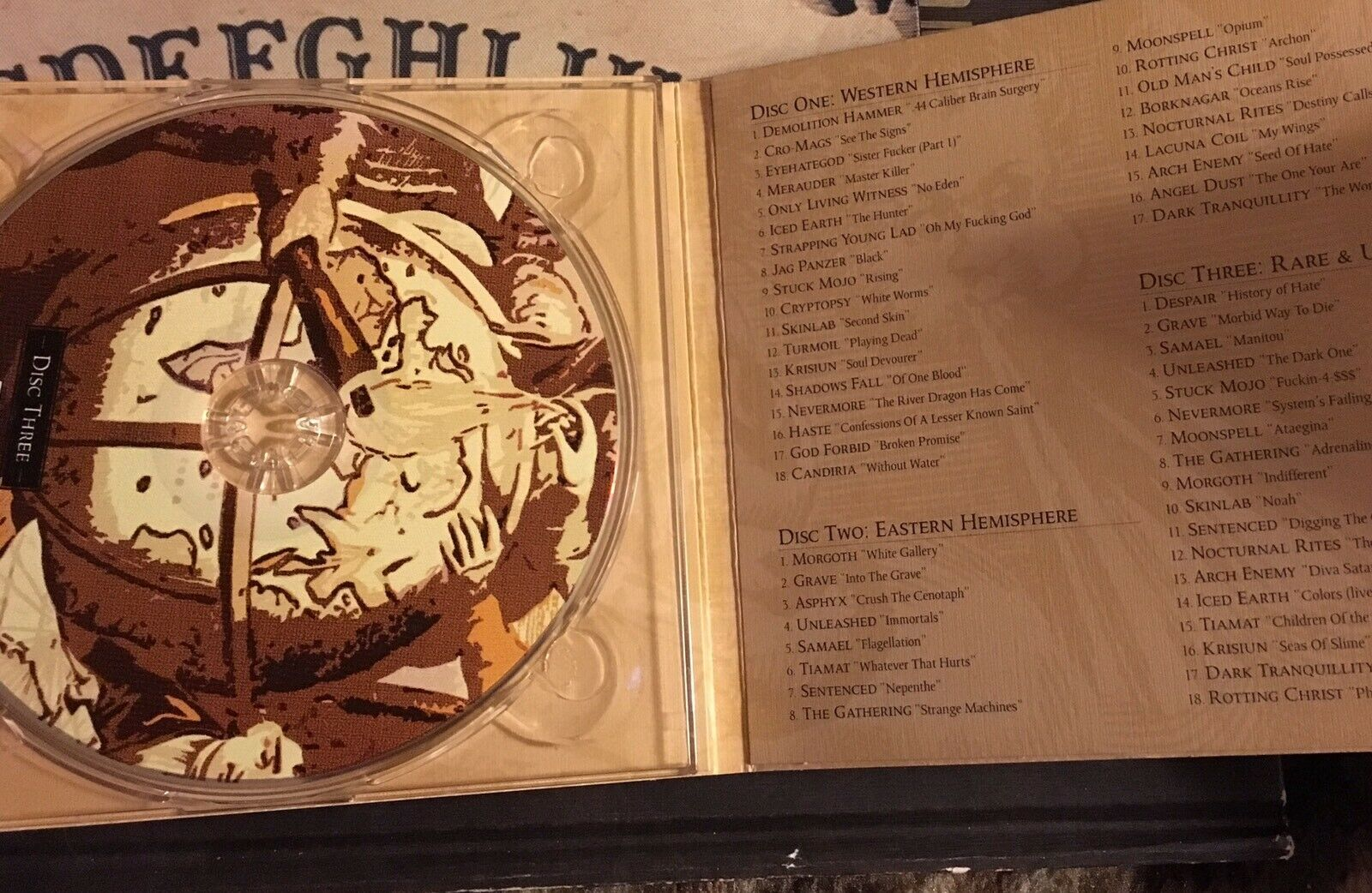 Century Media 10th Anniversary Box Set Collection [Box] [PA] by Various  Artists (CD, Oct-2001, 3 Discs, Century Media (USA))