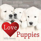 Love Puppies by Milly Brown (Hardback, 2008)
