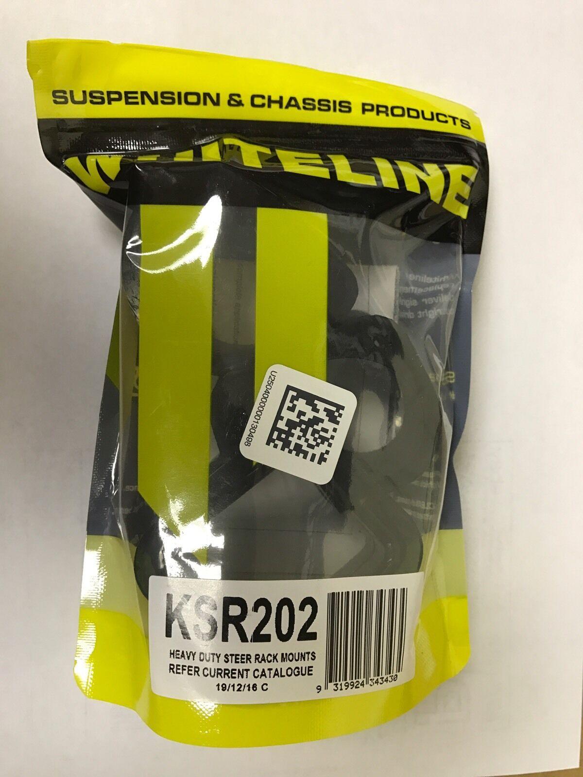 WHITELINE KSR202 HEAVY DUTY STEER RACK MOUNTS