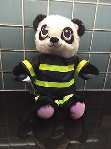 Build-a-Bear-Fireman-Teddy-Toy-Costume-Present-Gift