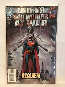 Our-Worlds-At-War-World-039-s-Finest-1-VF-NM-1st-Print-DC-Comics