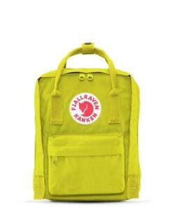 e36158ce5a Image is loading Fjallraven-Kanken-Mini-Backpacks-606-Birch-Green-F23561-