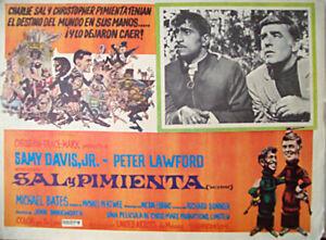 SALT-AND-PEPPER-SAMMY-DAVIS-1968-OPTIONAL-SET-MEXICAN-LC