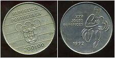 PORTUGAL 200 escudos 1992