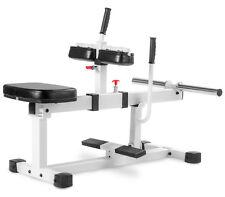 XMark Seated Calf Raise Thighs Lower Leg Exercise Machine XM-7613-WHITE