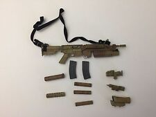 US Navy Seal Team 3 HAHO Desert OPS Riffle Set 1/6th Scale BBI 2005 Anniversary