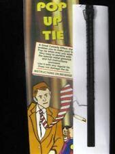 Deluxe Comedy POP UP NECK TIE Rising Magic Trick Clown Joke Gag Men Gimmick Prop