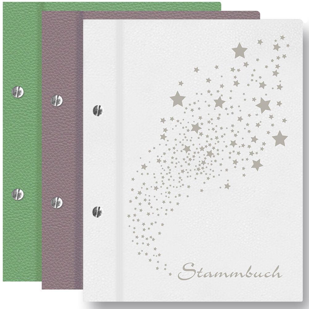 Stammbuch Heaven A4 Familienstammbuch Stammbuch der Familie Hochzeit Stammbaum | Schönes Design  | Leicht zu reinigende Oberfläche  | Die Farbe ist sehr auffällig