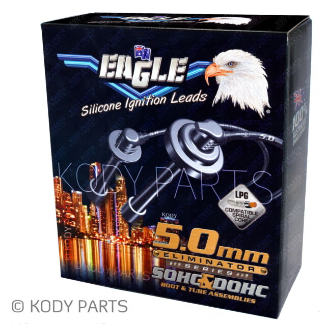 EAGLE IGNITION LEADS - for Toyota Camry SXV20R 5SFE 2.2L 5.0mm 1997-2002 E54495