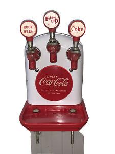 Vintage Coca-Cola  Cornelius Company tombstone 3 Valve fountain dispenser