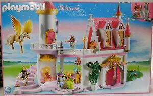 NEU** PLAYMOBIL® PRINCESS 5063 Prinzessinnenschloss mit Pegasus ...