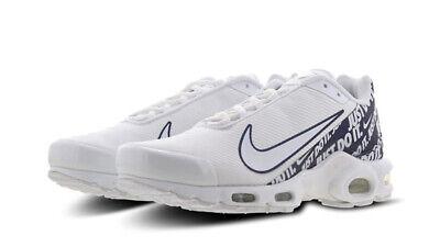 Herren Nike Air Max Plus Tuned 1 Zn Turnschuhe Weiß Blau CJ9697 100 UK 6 | eBay
