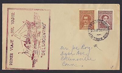Argentinien Intellektuell Argentinien 1949 Deltargentino Maiden Voyage To Us Waren Des TäGlichen Bedarfs Süd- & Mittelamerika