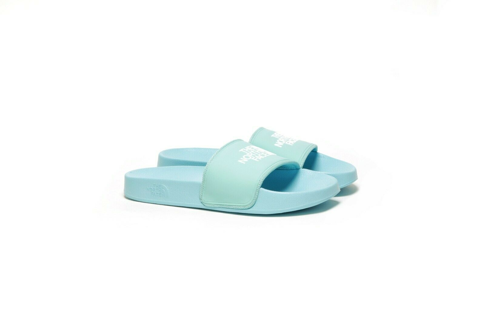 The North Face WOMEN'S BASE CAMP SLIDE II - CANAL BLUE/WHITE