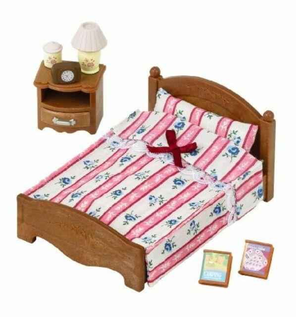 New Sylvanian Families Dolls Calico Critters Baby Bed set KA-203 Japan