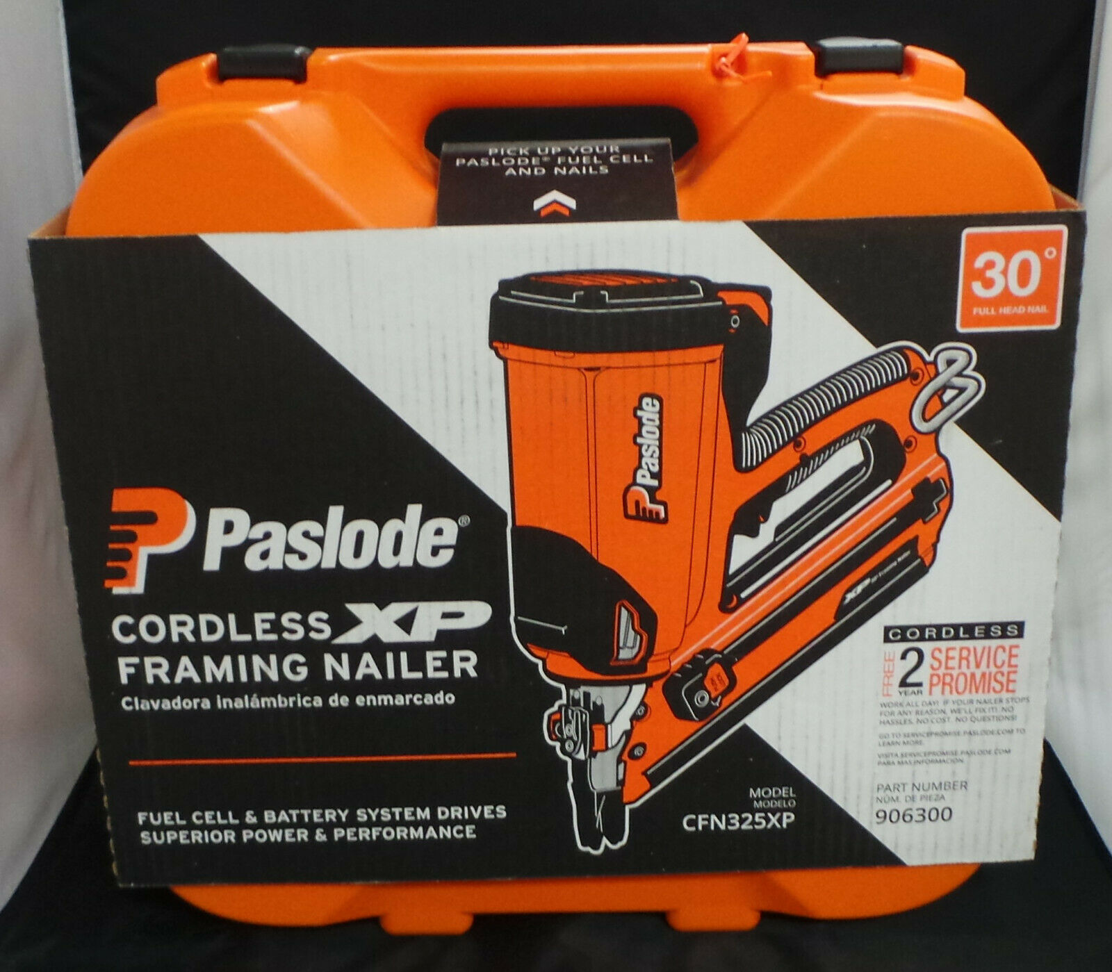 Paslode Cordless XP 30-Degree Framing Nailer CFN325XP BRAND NEW. Available Now for 379.95