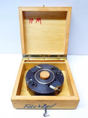 Systemshop24 Falzfräser mit Kugellager HM Z2 D31,8mm AL12,7mm FAT9,5mm GL67mm S1