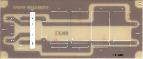LX140 nuova ELETTRONICA Alimentatore 40+40V Amplificatori Audio LX 140 nE c.s
