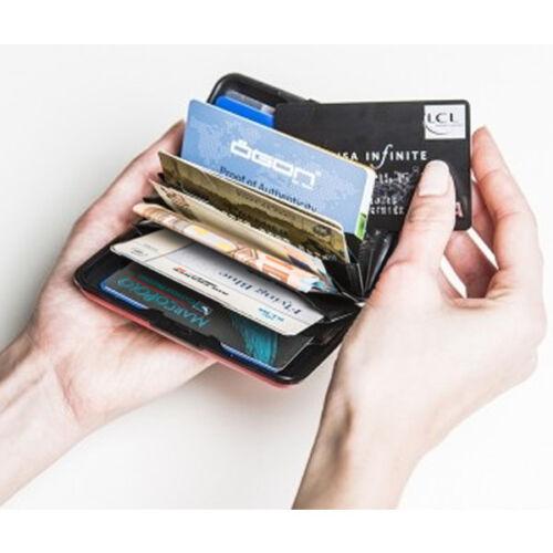 Credito Carte Di Wallet Porta Alluminio Rigido Case Portafoglio Schede ID id