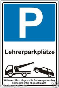 Professeur de parking- stationnement Bouclier- Parkschild Panneau- p197+-ze-Parkplatzschild-Parkschild Hinweisschild-P197+afficher le titre d`origine
