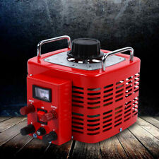 Tdgc 3kva Variac Transformer Variable Ac Voltage Regulator Metered 3kw 30amp Usa
