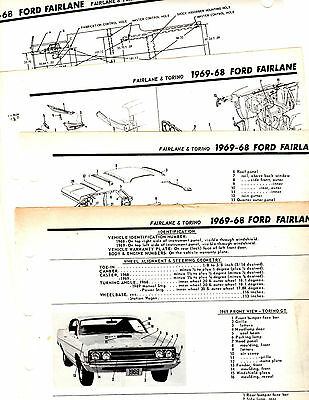 1967 1971 Ford Fairlane Torino Ranchero Cobra Wiring Diagrams Sheets Jssshivamogga Org