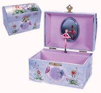 Dancing Fairy Ballerina Jewelry Box Children's NEW
