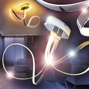 led deckenleuchten design k chen strahler chrom wohn zimmer lampen flur leuchten ebay. Black Bedroom Furniture Sets. Home Design Ideas