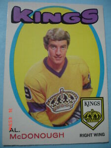 Authentic-1971-72-O-Pee-Chee-150-Al-McDonough-034-Vintage-034-Rookie-Card-N-MT