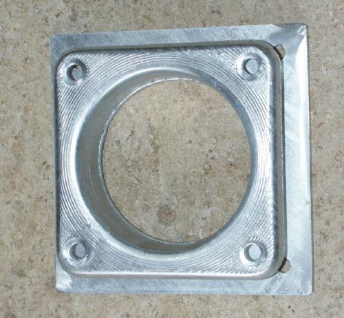 "reducerflange 8 inch to 6/"" type square bolt on flange slurry tanker galvanised"