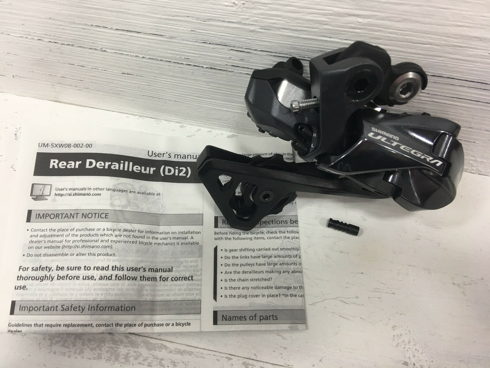 Shimano Ultegra  Di2 11-speed RD-R8050-SS Rear Derailleur  check out the cheapest