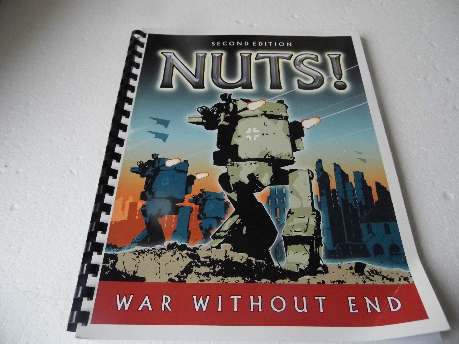 SECOND EDITION NUTS  WAR WITHOUT END-MODERN END-MODERN END-MODERN WARGAMES RULES 86bf5b
