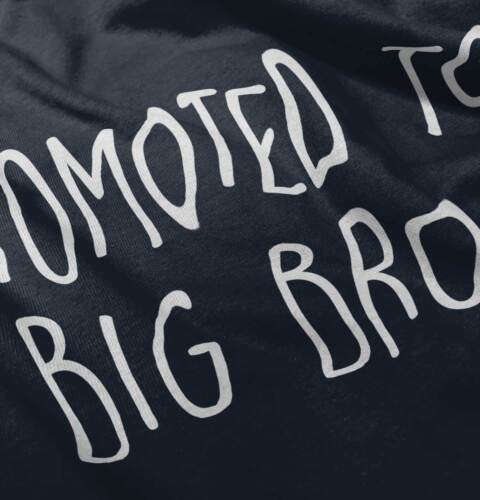 Promoted To Big Bro Funny Older Brother Son Shower Gift Boys Romper Bodysuit