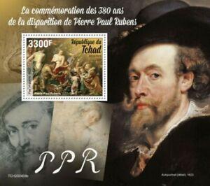 Chad-2020-Artist-Peter-Paul-Rubens-Stamp-Souvenir-Sheet-TCH200408b