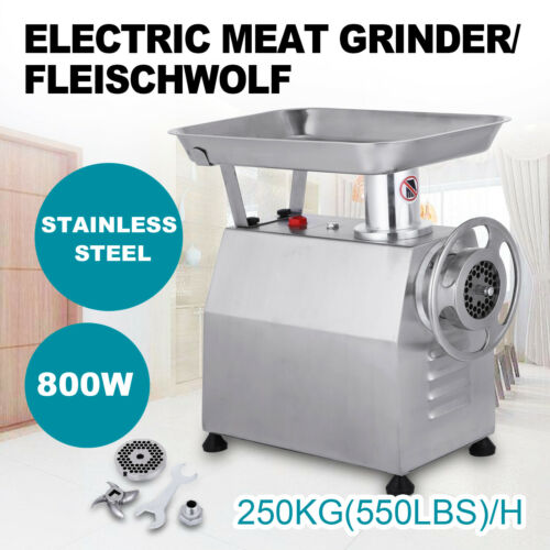 Automatic Meat Mincer Grinder Butcher Mincing Machine TK-22 220V 250kg//h