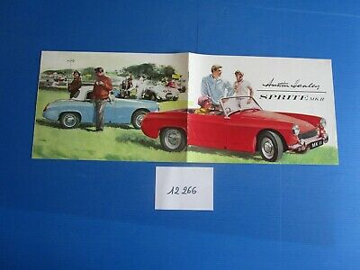 N°12266 / Catalogue Austin Healey Sprite Mk Ii : Deutsch Text Patrones De Moda