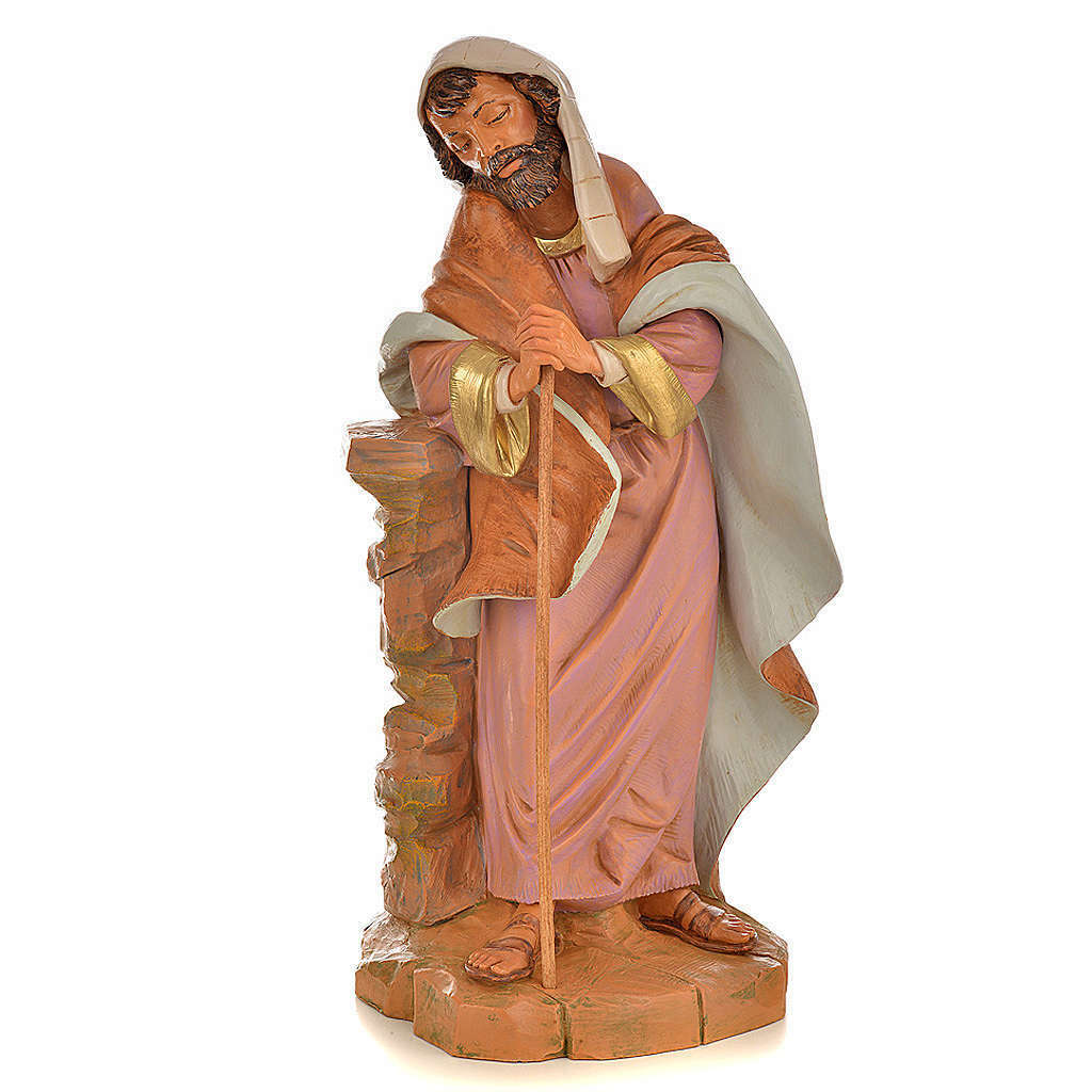 St Joseph crèche Fontanini 45 cm