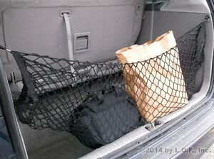 hammock cargo storage net van suv bungee rack organizer hold bag mesh  seat ebay