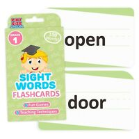 Sight Words Flashcards, First Grade Learning Education - Flash Card
