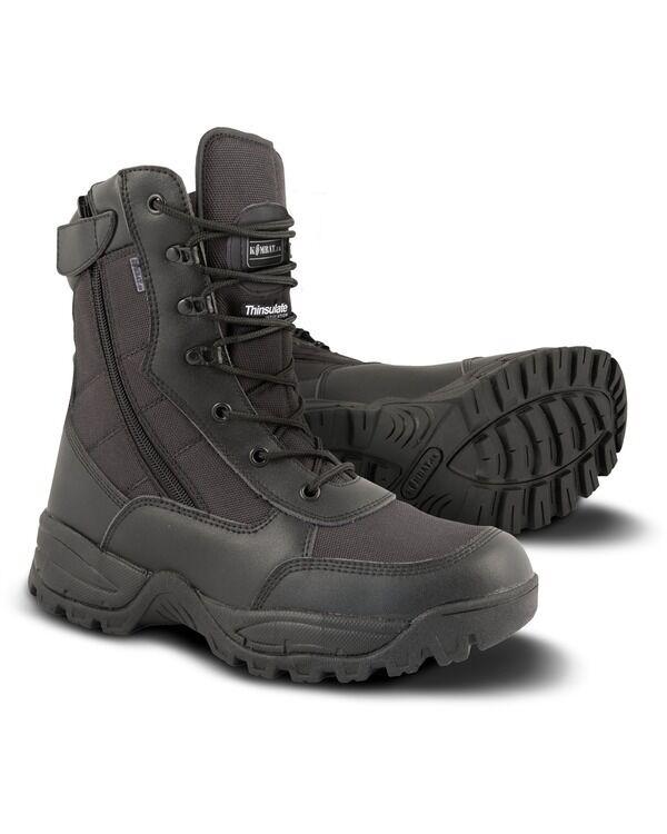 KOMBAT SPEC-Ops Recon Stivale-Nero Tattici Esercito Combattimento Stivali di sicurezza Cadetto