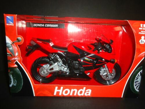 NewRay Honda CBR600R 2006 Red 1//12